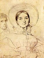 Madame Jean Auguste Dominique Ingres, born Madeleine Chapelle II, ingres