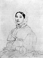 Madame Jean Auguste Dominique Ingres, born Madeleine Chapelle III, ingres