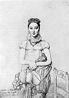 Mademoiselle Jeanne Hayard, ingres