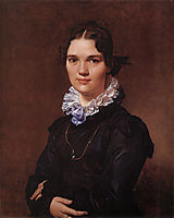 Mademoiselle Jeanne-Suzanne-Catherine Gonin, later Madame Pyrame Thomegeux, 1821, ingres