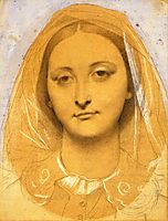 Mademoiselle Mary de Borderieux, ingres