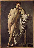 Male nude, 1801, ingres