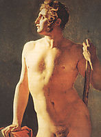 Male Torso, 1800, ingres
