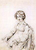 Mrs Charles Thomas Thruston, born Frances Edwards, ingres