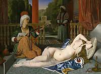 Odalisque and Slave, 1842, ingres