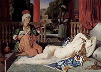 Odalisque with Slave, 1842, ingres