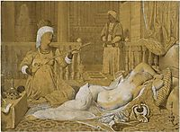 Odalisque with Slave, 1858, ingres