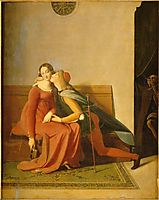 Paolo and Francesca, ingres