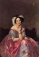 Portrait of Baroness James de Rothschild, 1848, ingres