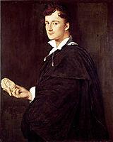 Portrait of Bartolini, 1806, ingres