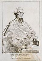 Portrait of Bishop Persigny, 1816, ingres