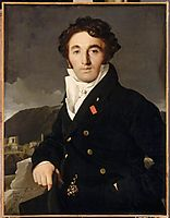 Portrait of Charles-Joseph-Laurent Cordier, 1811, ingres