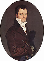 Portrait of Edme Bochet, 1811, ingres