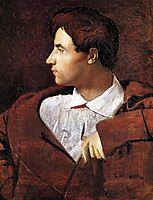 Portrait of Jean-Baptiste Desdéban, 1810, ingres