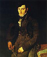 Portrait of Jean-Pierre-Francois Gilibert, 1805, ingres