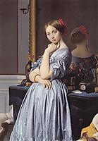Portrait of Louise de Broglie, Countess D-Haussonville, 1845, ingres