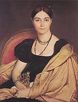 Portrait of Madame Antonia de Vaucay nee de Nittis, 1807, ingres
