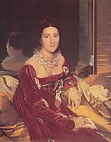 Portrait of Madame de Senonnes, c.1816, ingres