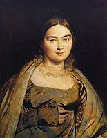 Portrait of Madame Ingres, 1815, ingres