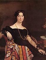 Portrait of Madame Leblanc, 1823, ingres