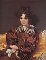 Portrait of Madame Marcotte de Sainte-Marie, 1826, ingres