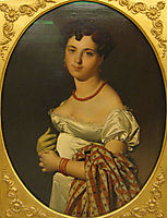 Portrait of Madame Panckoucke, 1811, ingres