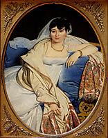 Portrait of Madame Rivière, 1806, ingres