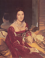 Portrait of Madame de Senonnes, 1814-16, ingres
