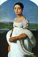 Portrait of Mademoiselle Rivière, 1805, ingres