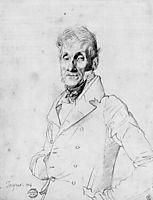 Portrait of a Man, possible Edmé Bochet, ingres