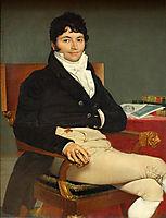 Portrait of Monsieur Rivière, 1805, ingres