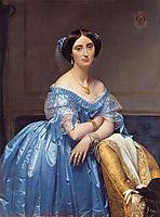 Portrait of Princess De Broglie, 1853, ingres