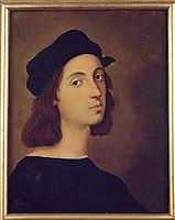 Portrait of Raphael, 1824, ingres