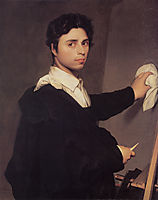 Self-Portrait, 1804, ingres