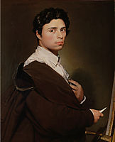Self-Portrait at the Age of 24, 1804, ingres