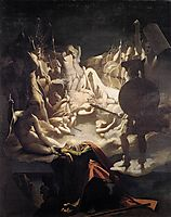 The Songs of Ossian, 1811-1813, ingres