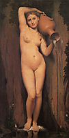 The Source, 1856, ingres
