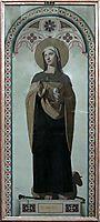 St. Genevieve, patroness of Paris, 1844, ingres