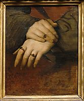 Study of a woman-s hands, ingres
