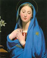 Virgin of the Adoption, 1858, ingres