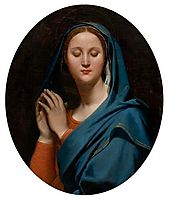 The Virgin of the Blue Veil, 1827, ingres