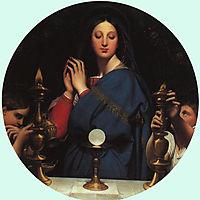 The Virgin of the Host, 1854, ingres