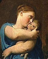 Woman and Child. Study for the Martyrdom of Saint Symphorien, ingres