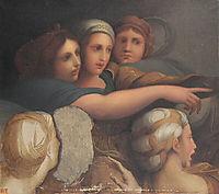 Women-s Group, 1867, ingres