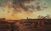 The Goat Herder, 1853, inness