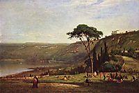 Lake Albano, 1869, inness
