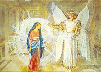 Annunciation, 1824, ivanov