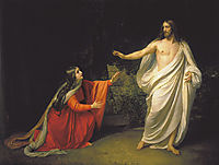 The Appearance of Christ to Mary Magdalene, c.1835, ivanov