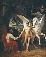 Bellerophon is sent to the campaign against the Chimera, 1829, ivanov