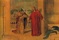 Jesus and Nicodemus, c.1855, ivanov